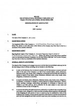 Belize_Memorandum and Articles of Association.pdf Page: 3