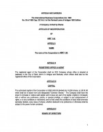 Ordinary Corporate Documents- Bearer Page: 1