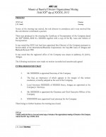 Organisational Minutes Directors - Nominee Directorship Page: 1