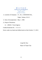 English Certificate of Incorporation with Certificate of Good Standing Page: 2