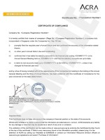 Certificate of Compliance_short Page: 1