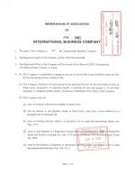 St. Lucia_Memorandum of Association Page: 1