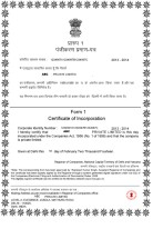 India_Certificate of Incorporation Page: 1