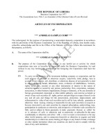 Liberia_ Articles of Incorporation Page: 2