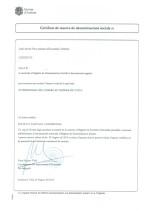 Andorra_Certificat de reserva de denominacions socials Page: 1