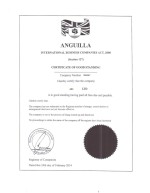 Anguilla_Certificate of Good Standing Page: 1