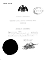 Dominica_Tax  Exemption Page 1 Shot