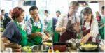 Мастер-класс по изысканным блюдам из азиатской кухни от Саши и Лау