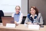 Оля и Маша на семинаре в Санкт-Петербурге